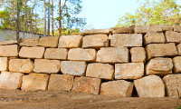 B Grade Sandstone Retaining Wall Blocks